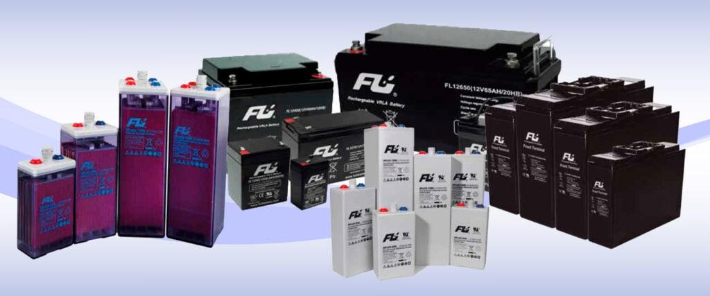 Tipos de Baterías Fulibattery